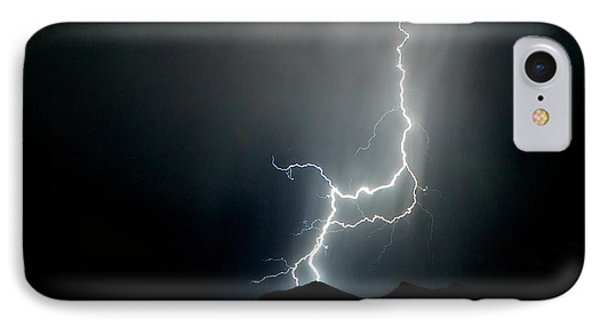 IPhone Case featuring the photograph As Dark As The Night by Michael Rogers