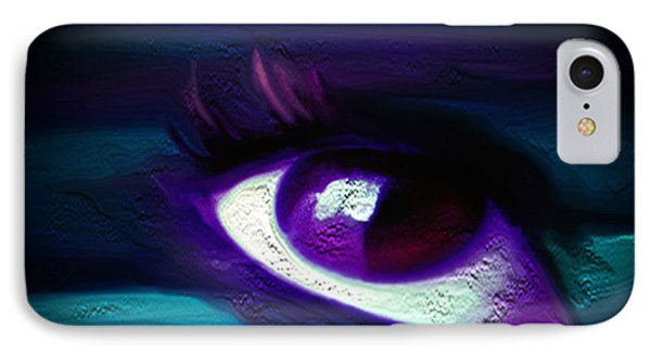 As Far As The Eye Can See IPhone Case by Persephone Artworks
