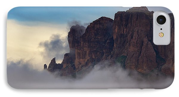 As The Clouds Float On By  IPhone Case