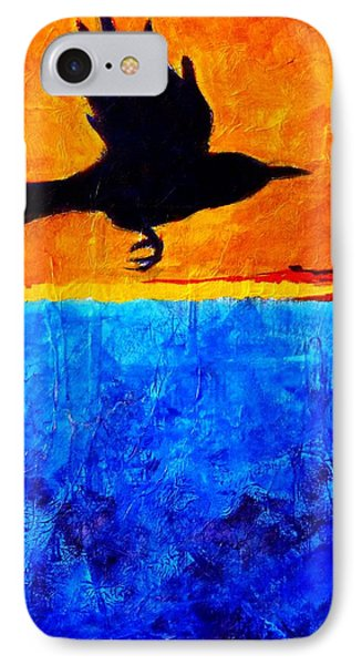 As The Crow Flies IPhone Case