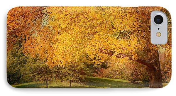 As The Leaves Fall Phone Case by Kim Hojnacki