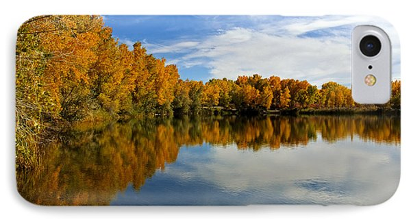 As The Leaves Turn Phone Case by Bob Hislop