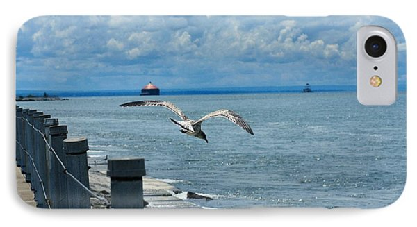 As The Seagull Flies IPhone Case