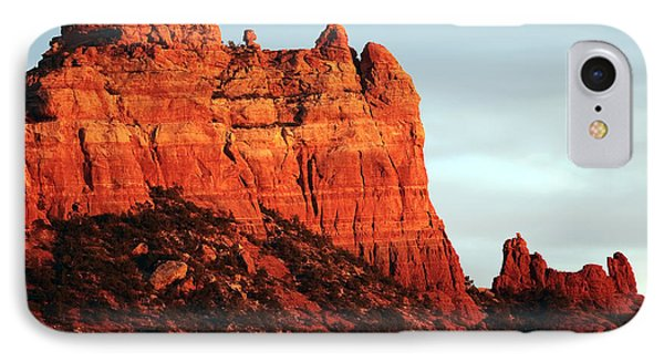 As The Sun Sets In Sedona IPhone Case by John Rizzuto