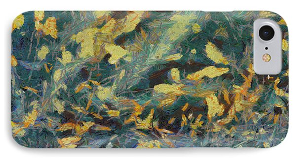 IPhone Case featuring the painting As The Wind Blows by Joe Misrasi