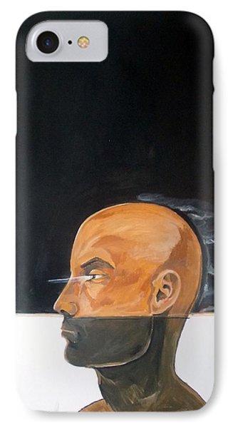 IPhone Case featuring the painting As Vapor Gutural by Lazaro Hurtado