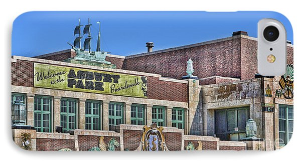 Asbury Park Convention Hall And Paramount Theatre  IPhone Case by Lee Dos Santos