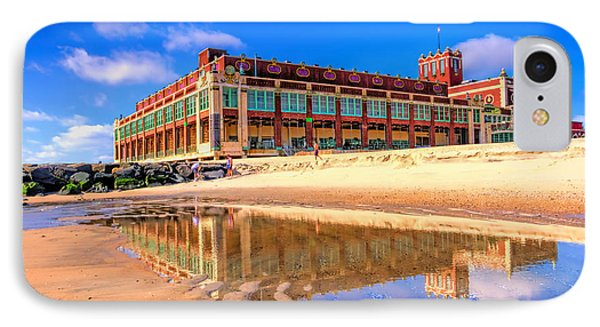 Asbury Park Reflection IPhone Case by Geraldine Scull