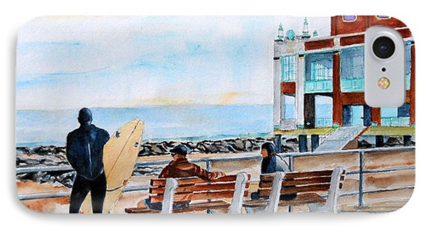 Asbury Park Surfers Phone Case by Brian Degnon