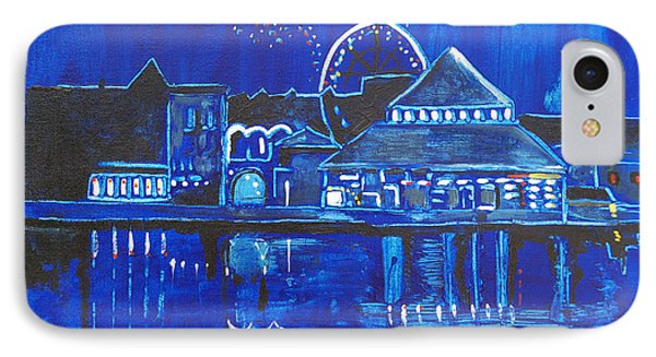 Asbury Park's Night Memories IPhone Case by Patricia Arroyo
