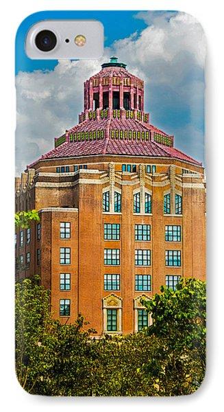 Asheville City Hall Phone Case by John Haldane