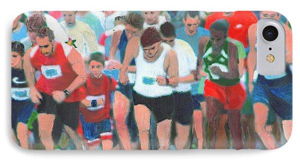 Ashland Half Marathon Phone Case by Cliff Wilson
