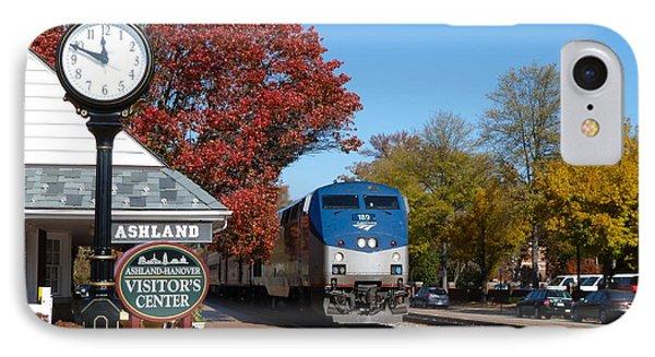 Ashland Train Depot IPhone Case
