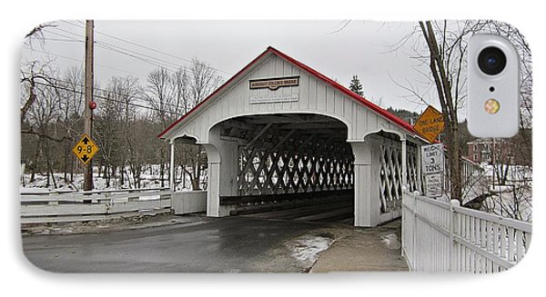 Ashuelot Bridge IPhone Case
