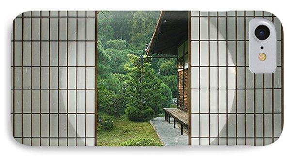 Asia, Japan, Kyoto, Sesshudera, Tea IPhone Case by Rob Tilley