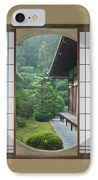 Asia, Japan, Kyoto, Sesshuji Temple IPhone Case by Rob Tilley