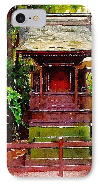 Asian Temple IPhone Case by Daniel Precht
