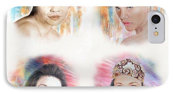 Asian Beauties  IPhone Case