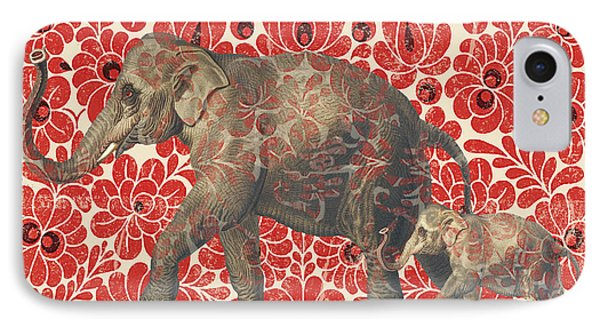 Asian Elephant-jp2185 IPhone 7 Case by Jean Plout