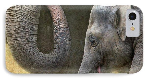 Asian Elephants IPhone Case