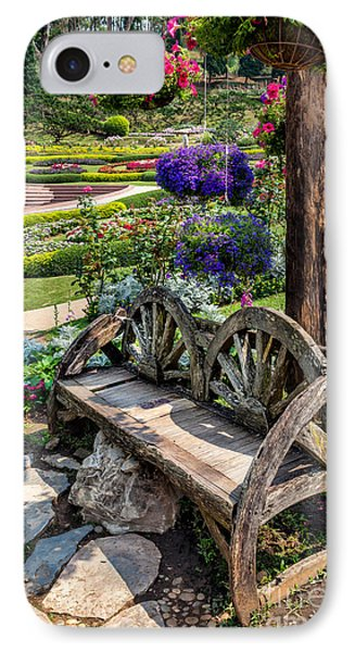 Asian Garden IPhone Case by Adrian Evans