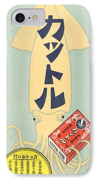 Asian Taisho Poster 1912 IPhone Case by Celestial Images