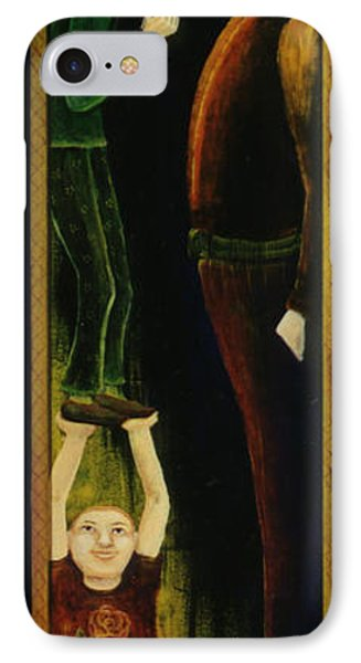 IPhone Case featuring the painting Asking For A Raise. by Anna Skaradzinska