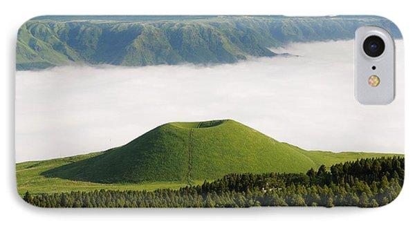 IPhone Case featuring the photograph Aso Komezuka Sea Of Clouds Cloud Kumamoto Japan by Paul Fearn