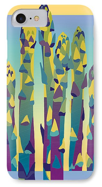 Asparagus Gradient IPhone Case