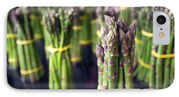 Asparagus IPhone 7 Case by Tanya Harrison