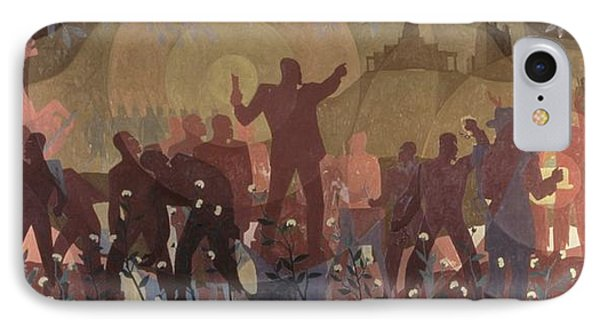 Harlem iPhone 7 Case - Aspects Of Negro Life by New York Public Library/aaron Douglas