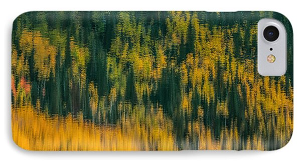 IPhone Case featuring the photograph Aspen Abstract by Ken Smith