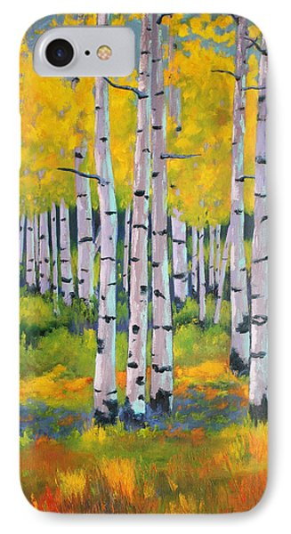 Aspen Color IPhone Case by Nancy Jolley