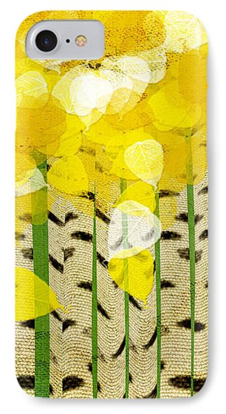 Aspen Colorado Abstract Square IPhone Case by Andee Design