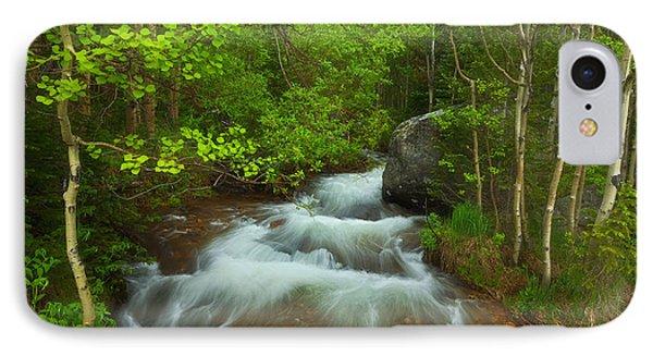 Aspen Creek IPhone Case by Darren  White