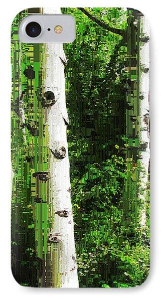 Aspen Grove 2 IPhone Case by Tim Allen