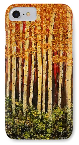Aspen Grove  IPhone Case by Sherry Flaker