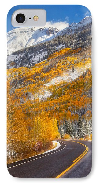 Aspen Highway IPhone Case by Darren  White