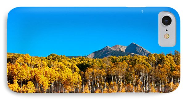 IPhone Case featuring the photograph Aspen Moon by Eric Rundle