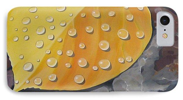 Aspen Rain Phone Case by Hunter Jay