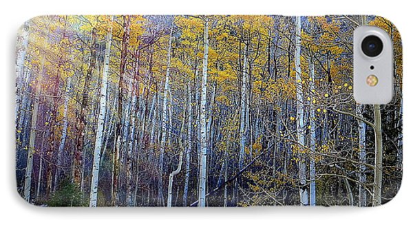 IPhone 7 Case featuring the photograph Aspen Sunset by Karen Shackles