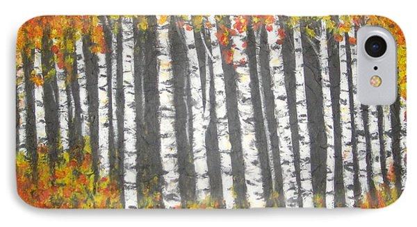 Aspen Trees IPhone Case by Elena  Constantinescu