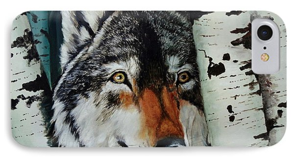 Aspen Wolf IPhone Case by Ruanna Sion Shadd a'Dann'l Yoder