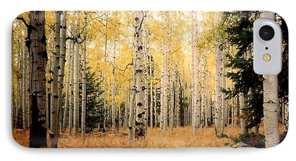 IPhone Case featuring the photograph Aspens by Fred Wilson