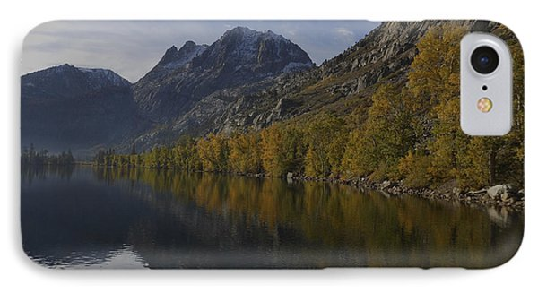 Aspen Trees Carson Peak And Reflections IPhone Case