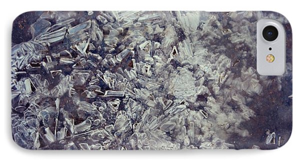 IPhone Case featuring the photograph Asphalt Ice by Candice Trimble