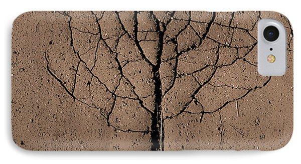Asphalt Tree IPhone Case