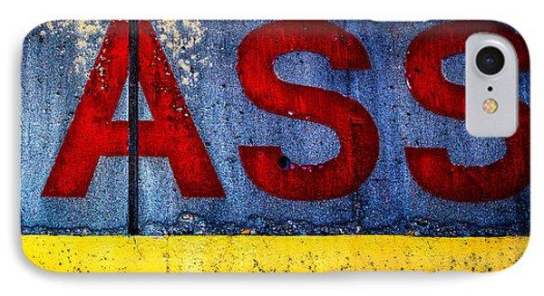 ASS Phone Case by Bob Orsillo