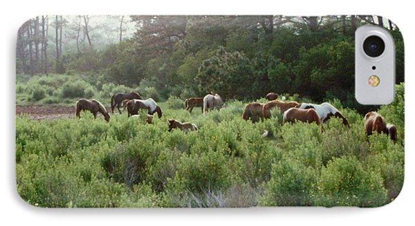 Assateague Herd Phone Case by Joann Renner