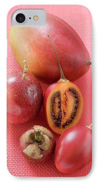 Assorted Exotic Fruits (overhead View) IPhone Case